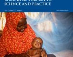 Source - Global Health: Science and Practice Vol. 2, No. 2 May 01, 2014. Description - Cover page.