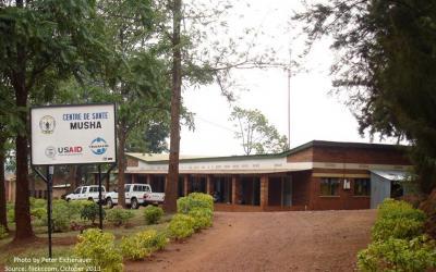 Source - Peter Eichenauer October 2013, flickr.com. Description - Health Facility in Rwanda.